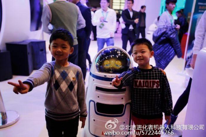 Robot buatan China