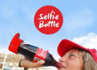 Coca-cola selfie bottle