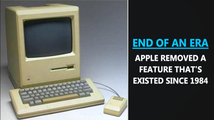 Apple Hilangkan Fitur Ikonik yang Ada Sejak 1984