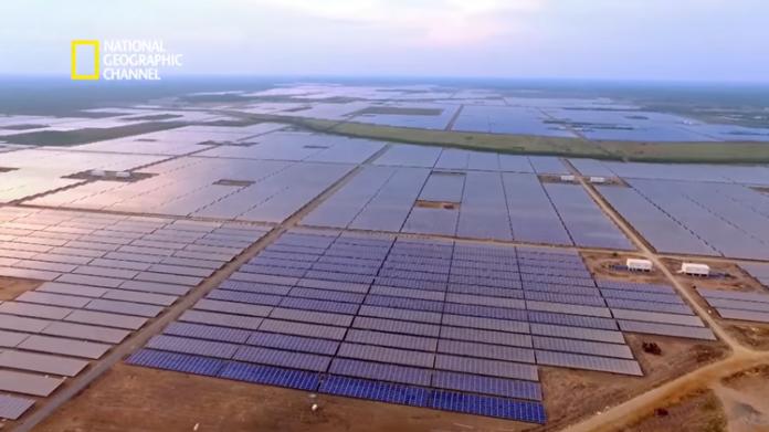 pembangkit listrik tenaga surya terbesar sejagat