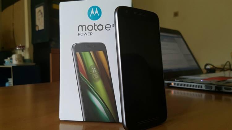 Review: Moto E3 Power, Baterai Besar Jadi Andalan