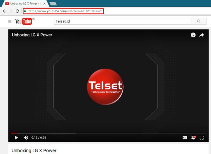 Unduh Video Youtube di VLC