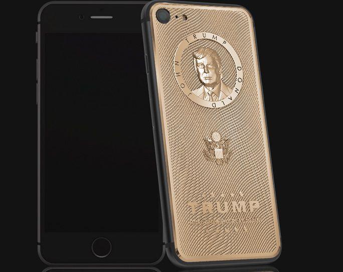 Berapa Harga iPhone 7 Berlapis Emas dengan Muka Donald Trump?