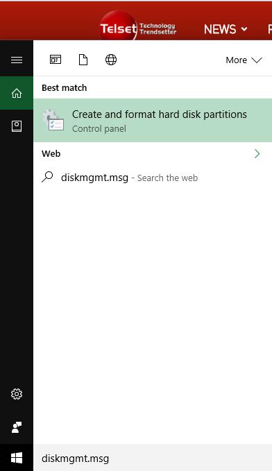 Cara Membagi Partisi Baru di Windows 10