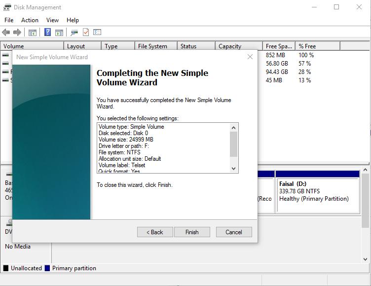 Cara Mempartisi Hardisk di Windows 10
