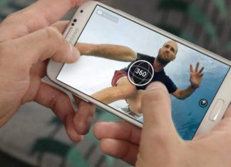 360-degree live video