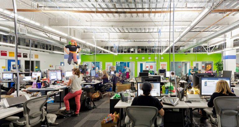 5 Kantor Perusahaan Teknologi Paling Keren