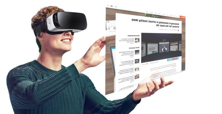 Samsung Petenkan Gear VR dengan Pelacak Mata dan Wajah