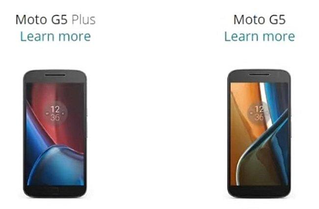 Bocoran Terbaru Ungkap Waktu Peluncuran Moto G5 dan G5 Plus