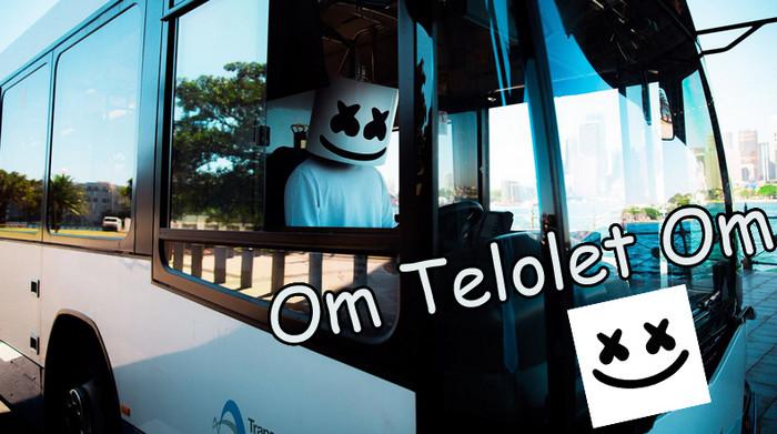 """Artis Dunia Latah Ikutan """"Om Telolet Om"""" di Twitter"""