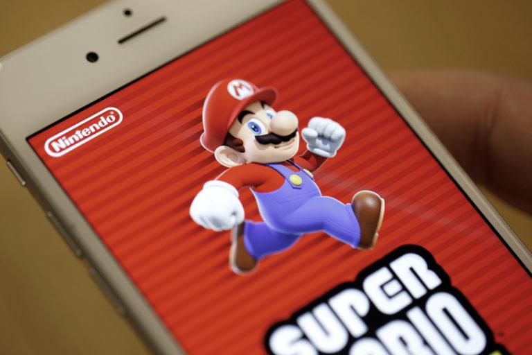 "Super Mario Run ""Loyo"", Nintendo Tekor"