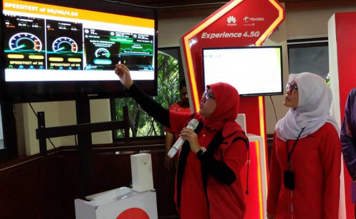 Berapa Kecepatan Internet 4,5G Telkomsel di Bandung?