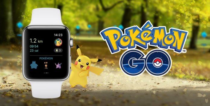 Pokemon GO di Apple Watch