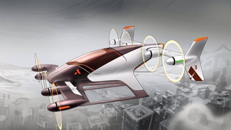 Airbus Siap Uji Coba Mobil Terbang Otonom Tahun Ini