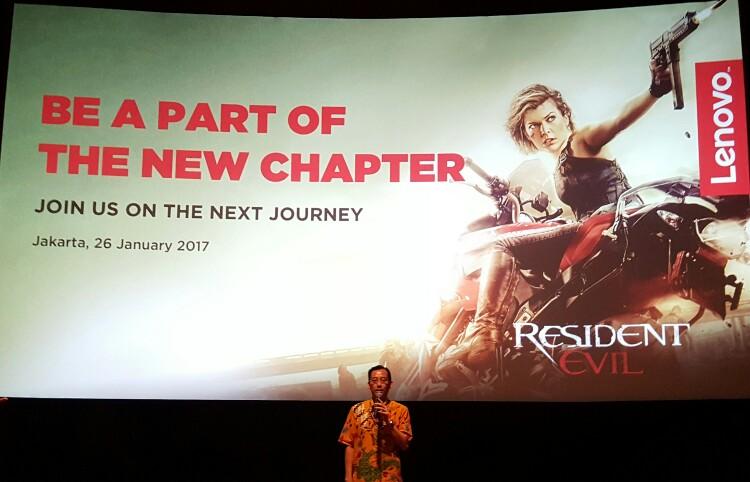 Kecanduan Zombie, Lenovo Gandeng Resident Evil: The Final Chapter