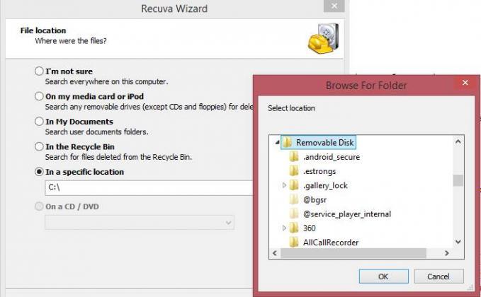 Mengembalikan Foto dan Video dengan Recuva File Recovery