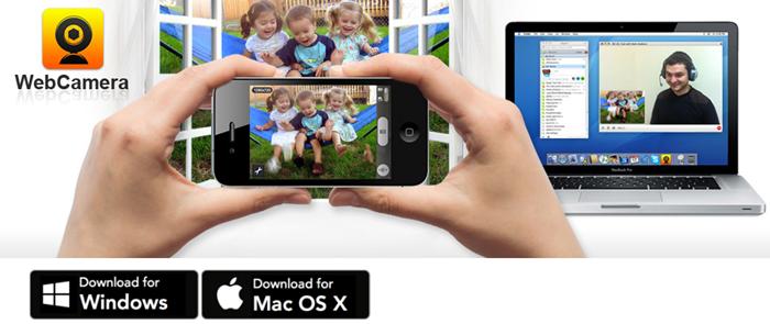 Ganti Kamera PC dengan iPhone