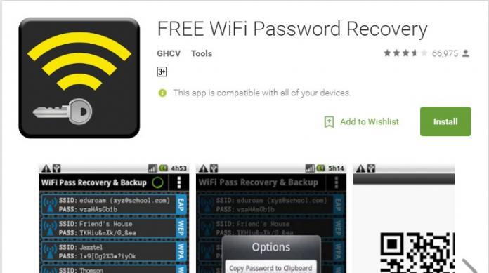 melihat password wifi menggunakan android