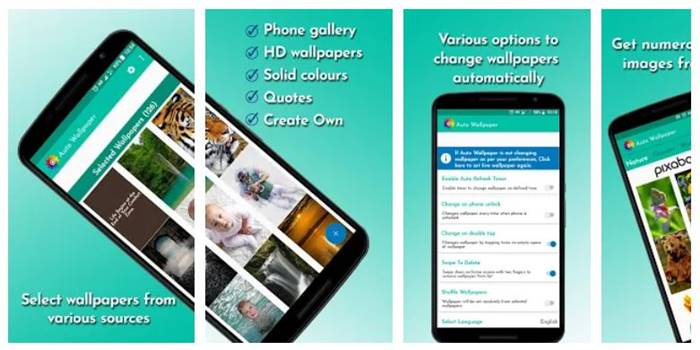 aplikasi ubah wallpaper android otomatis