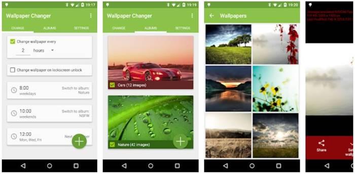 Ubah Wallpaper di Android Otomatis