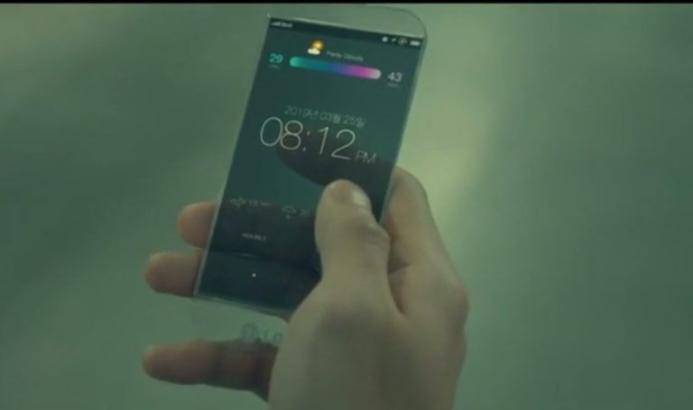 LG Pamer Smartphone Transparan di Drama Tomorrow With You