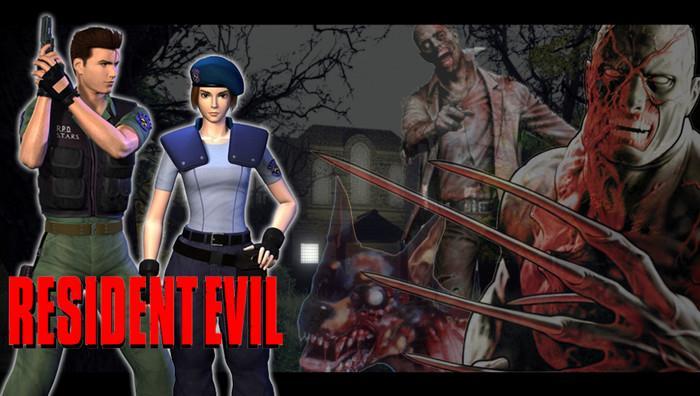 Game Zombie Resident Evil