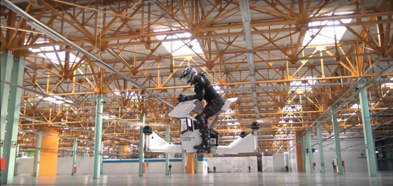 Motor Masa Depan akan Bisa Terbang, Ini Buktinya
