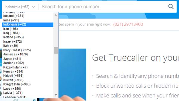 Melacak Nomor Telepon Menggunakan PC