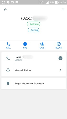 Melacak Nomor Telepon terbaru