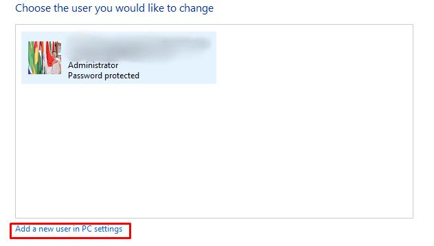 Start Menu Windows 10 error