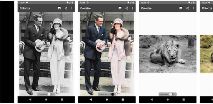 Aplikasi Mengubah foto hitam putih menjadi berwarna