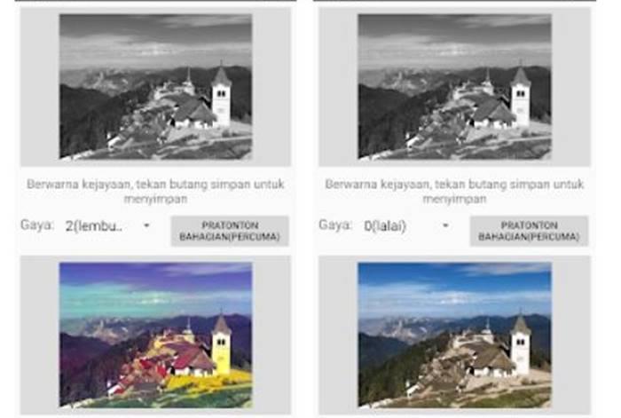Aplikasi edit foto hitam putih