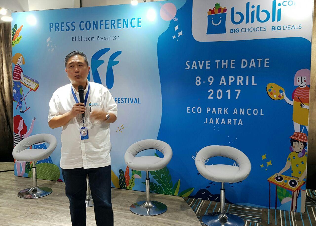 Dorong Potensi Brand Lokal, Blibli.com Gelar Blibli Fun