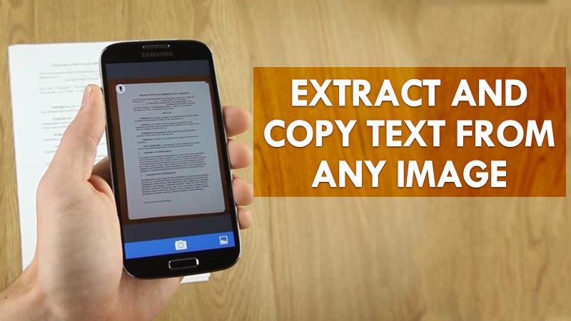 Cara Salin Teks Dari Gambar Di Android Mudah Dan Works