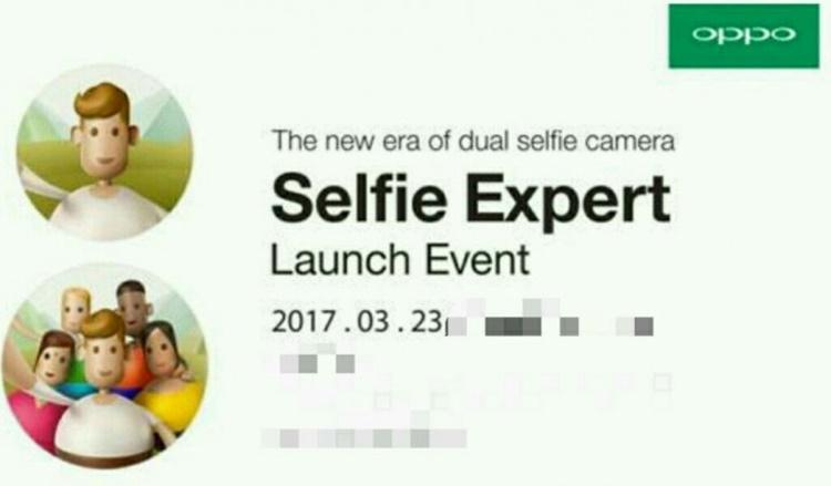 """23 Maret, Oppo Luncurkan """"The Next Selfie Expert""""?"""
