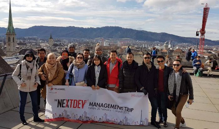 Tiga Pemenang The NextDev 2016 'Study Tour' ke Eropa