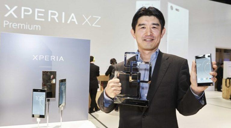 "Sony Xperia XZ Premium Sabet ""Best New Smartphone"""