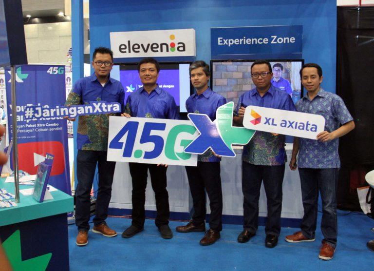 4G LTE XL Axiata Sambangi Samarinda dan Balikpapan