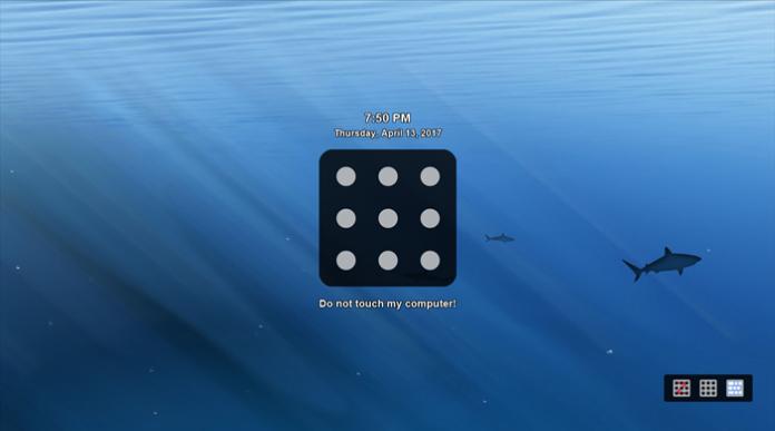 hadirkan pattern lock di Windows