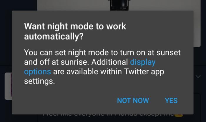Pengguna Twitter Sudah Bisa Coba Fitur 'Night Mode'