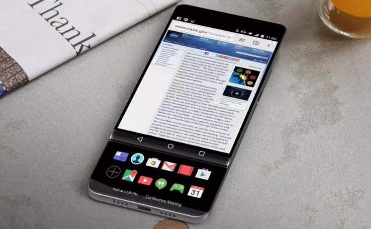 LG V30 Akan Gunakan Konsep Desain Dual Display Slider?