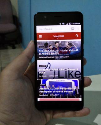 ZenFone Zoom S Tampak Depan