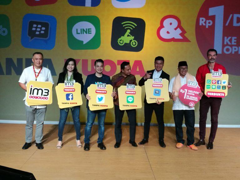 """Indosat IM3 """"Gratiskan"""" Paket Data untuk 10 Aplikasi Ini"""