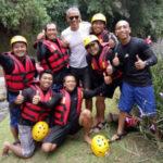 Barack Obama foto rafting di Bali