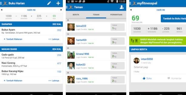 Calorie Counter & Diet Tracker Aplikasi Olahraga Selama Puasa