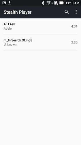 Dengar Lagu via Earpiece dengan Stealth Audio Player