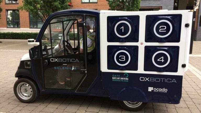 Inggris Sudah Pakai Mobil Otonom untuk Kirim Barang