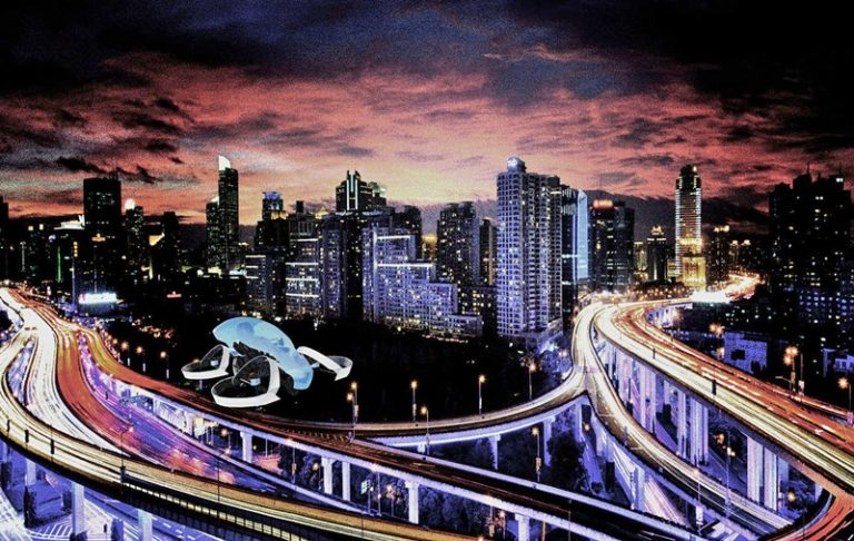 Mobil Terbang Toyota akan Unjuk Gigi di Olimpiade 2020