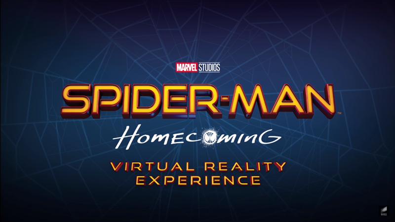 Spider-Man: Homecoming Versi VR