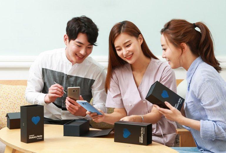Resmi! Samsung Perkenalkan Galaxy Note Fan Edition